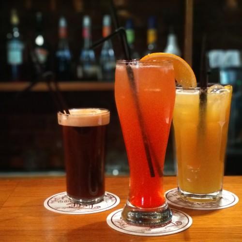 Новые пивные коктейли!